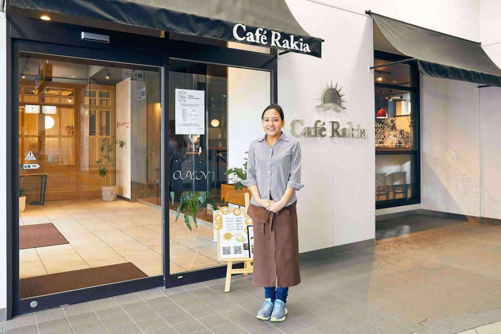 桜井駅 カフェ ラキア
