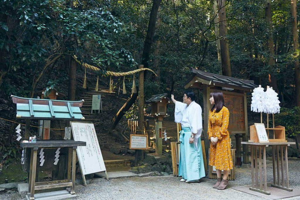 三輪山登拝口 大神神社 パワースポット