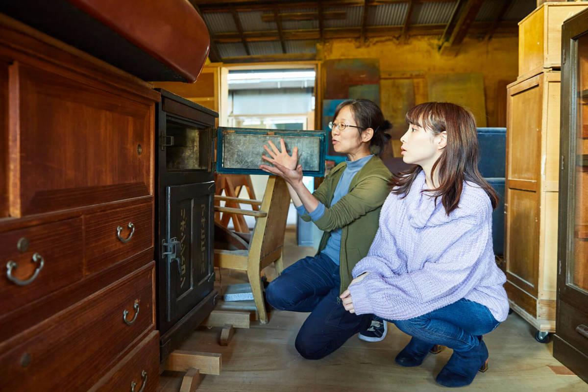 家具職人 アンティーク 修理