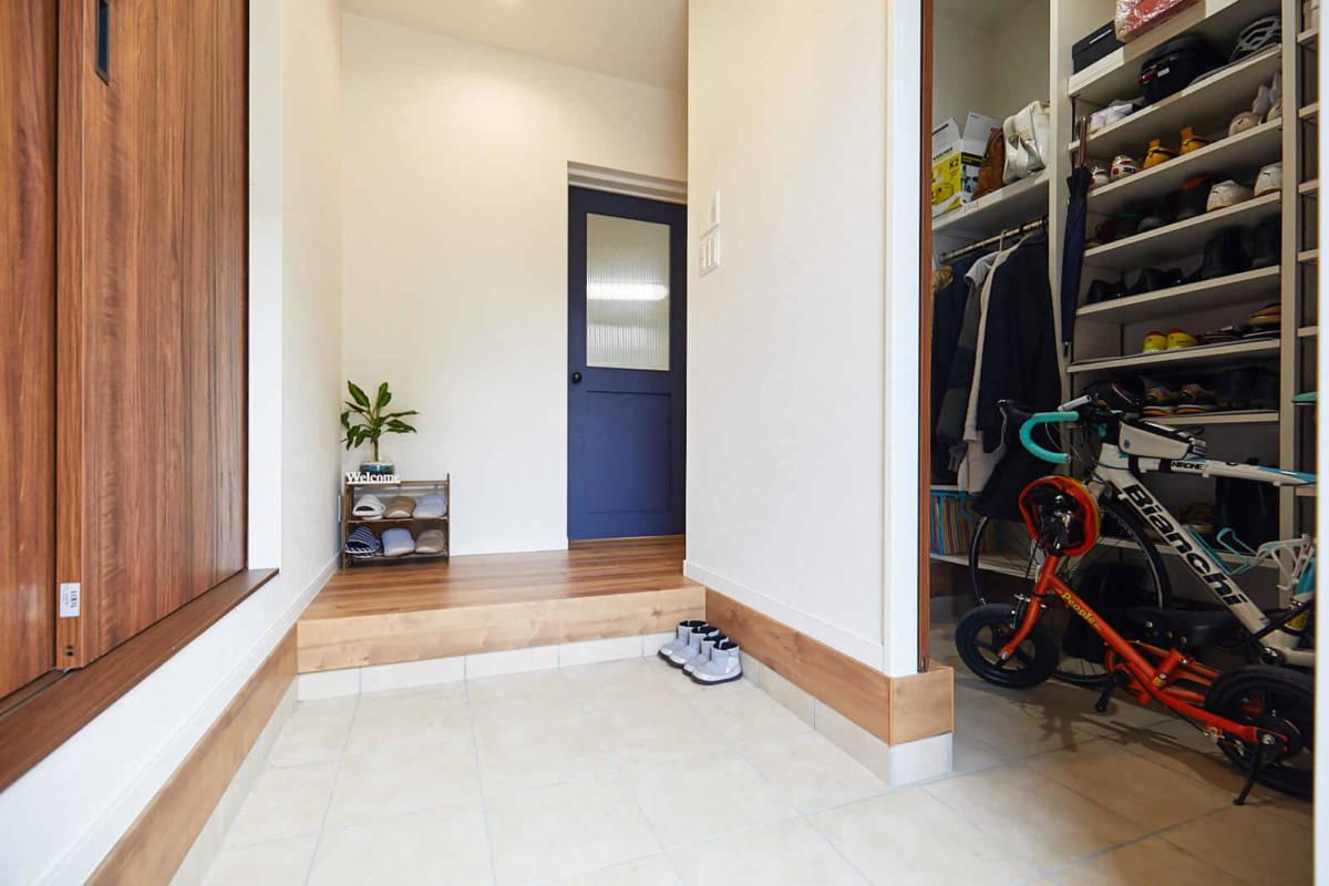 注文住宅,施工事例,玄関