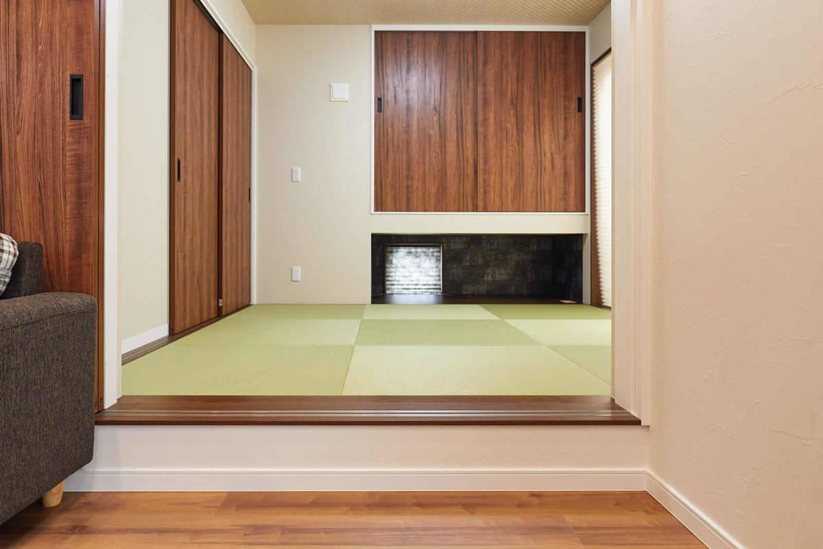 注文住宅,施工事例,和室