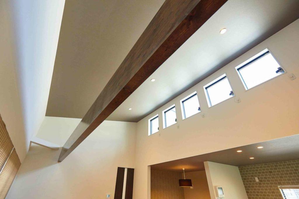 リビング 天窓 モデルハウス