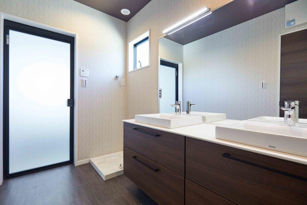 洗面化粧室 水回り モデルハウス