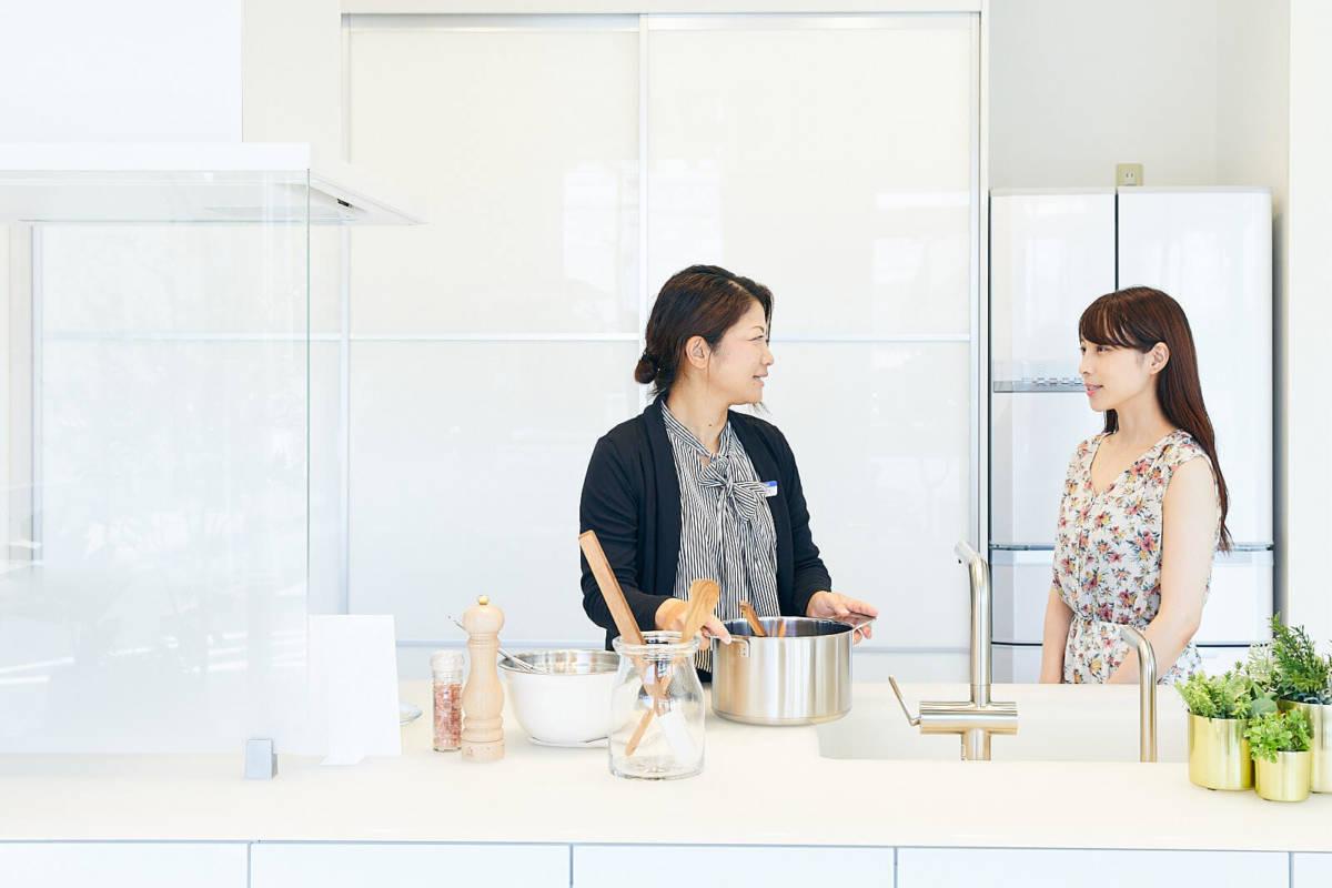 TOTO ショールーム システムキッチン