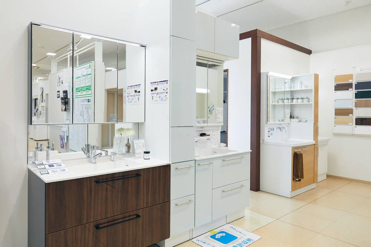 TOTOショールーム 奈良 洗面所