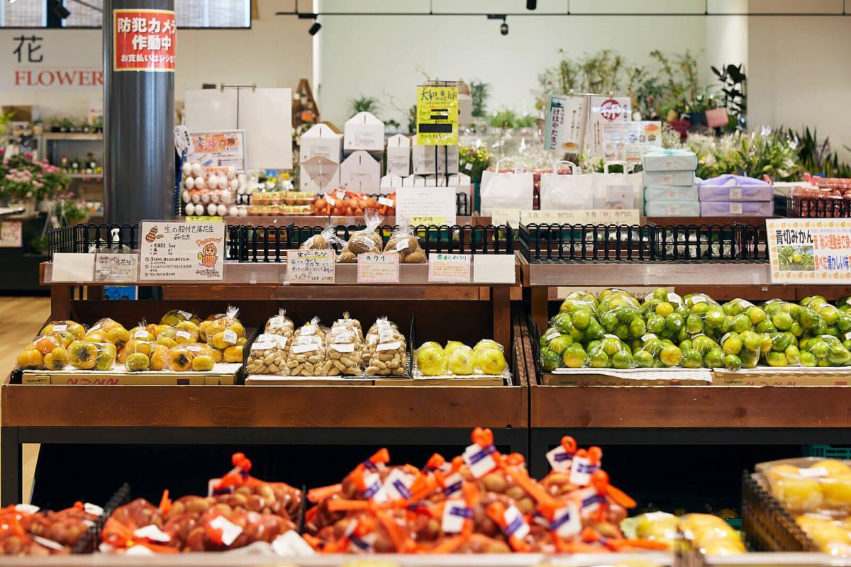 道の駅かつらぎ 直売所 野菜
